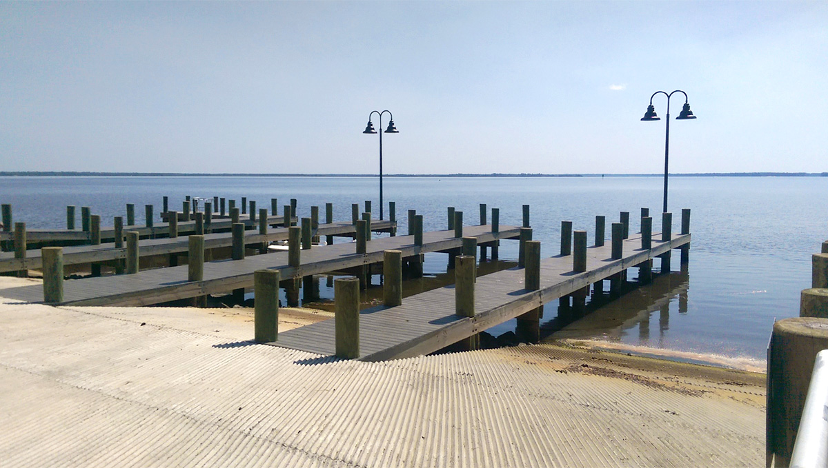 Pilcher Park Dock